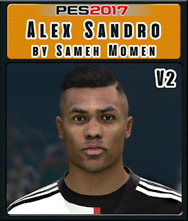 PES 2017 Faces Alex Sandro by Sameh Momen