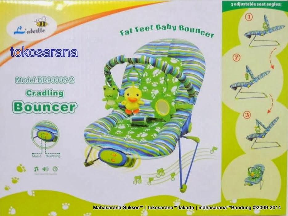 Junior L'abeille BR90006-2 Fat Feet Baby Bouncer