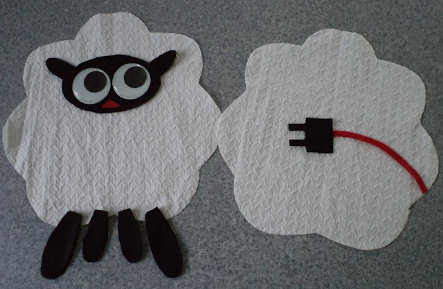 eSheep Designs sheep stuffie