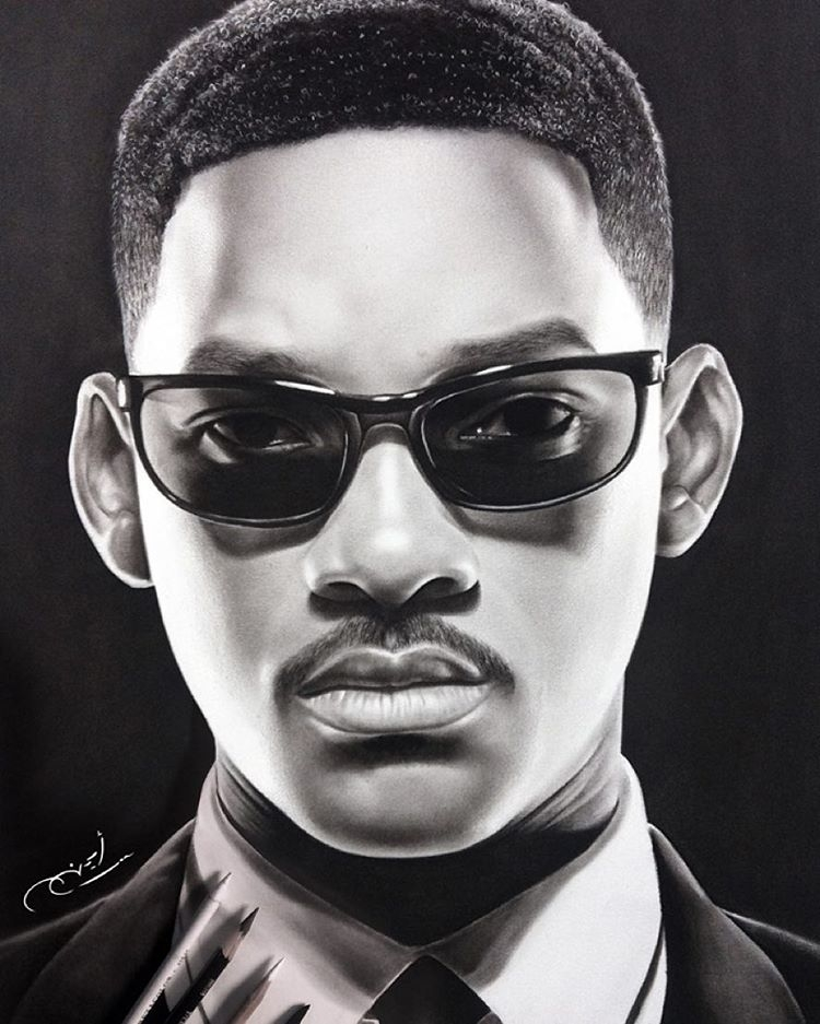 10-Will-Smith-aymanarts-Realistic-Drawings-of-Celebrities-and-Other-www-designstack-co