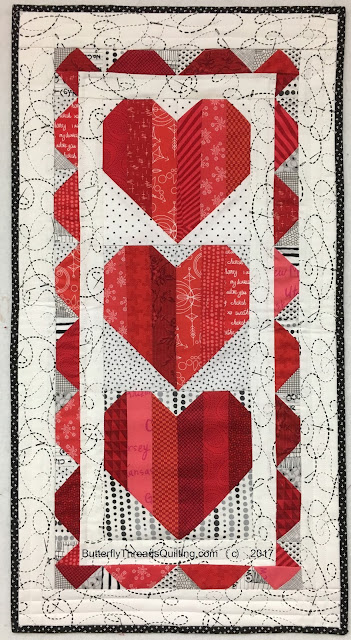 Butterfly Threads Free Pattern Valentine Trio