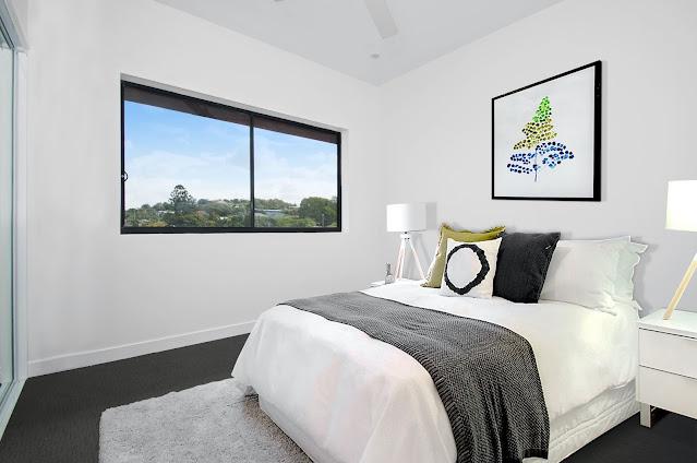 Interior Kamar Tidur Utama Minimalis