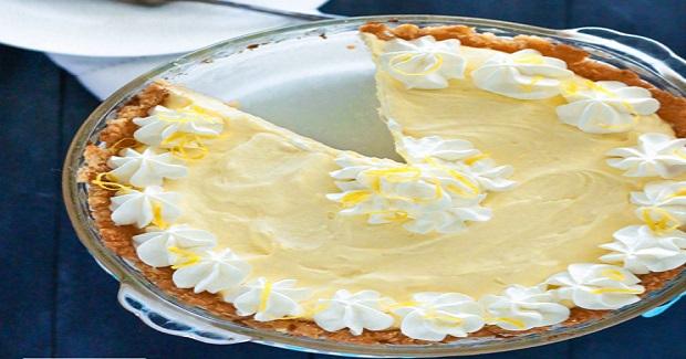 Lemon Cloud Pie – Low Carb & Gluten Free Recipe
