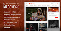 MagOne v6.6.8 – Responsive News & Magazine Blogger Template