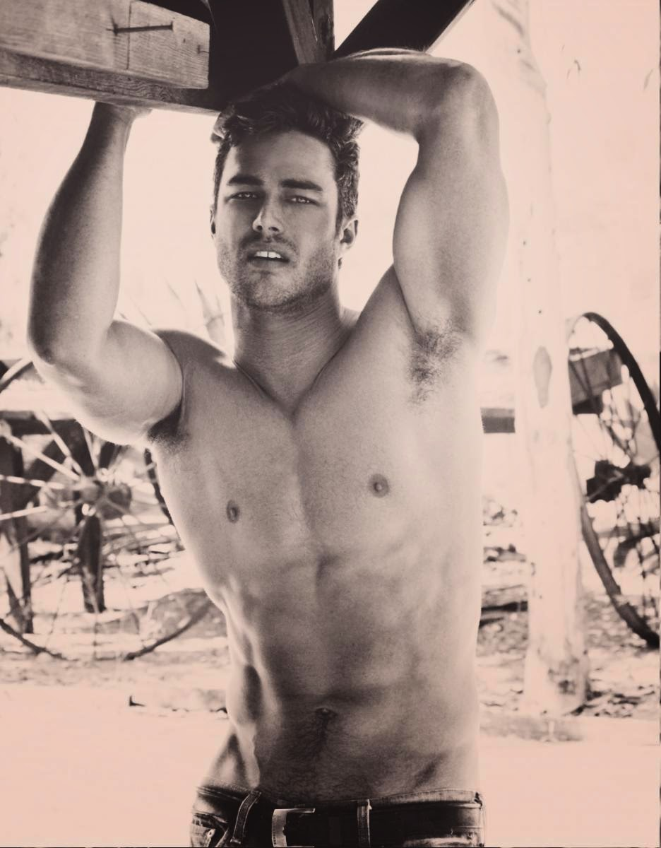 taylor kinney with underwear on