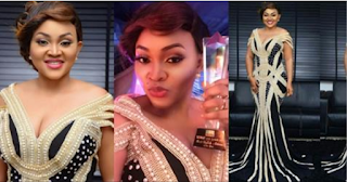 Mercy Aigbe Wins Most Stylish Actress Of The Year Award (Photos)