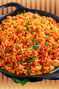 وصفة الأرز المكسيكي بالخضار