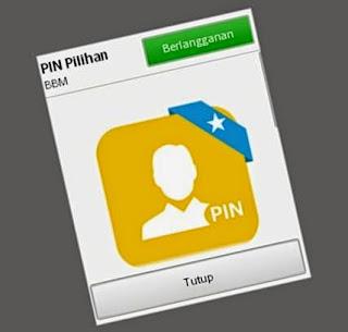 Cara Gratis Langganan Custom PIN BBM, Bukan BBM Mod