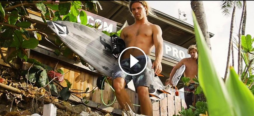 Euro Trip to Hawaii Volcom Surf