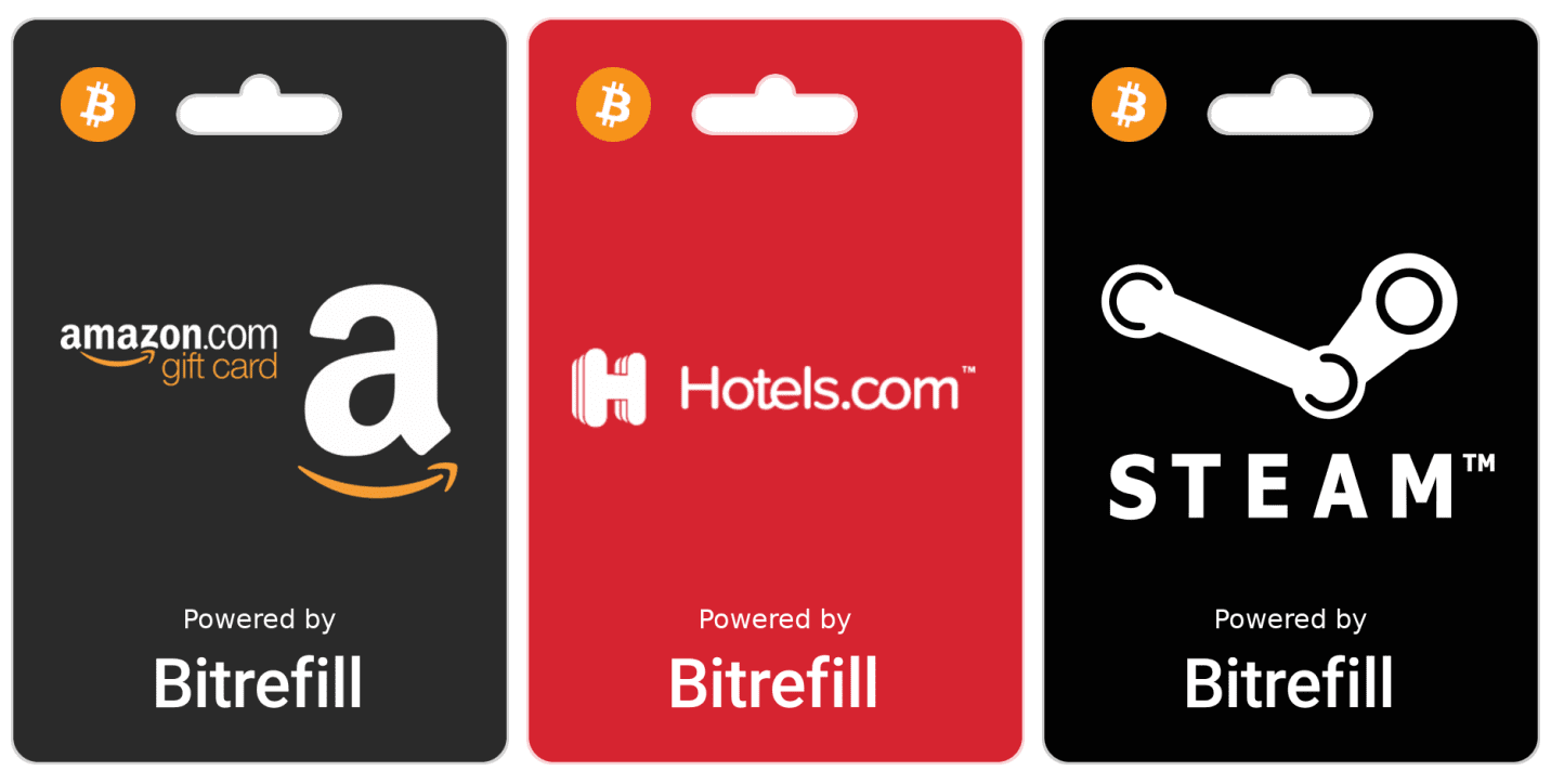 BitRefill - Shop With Bitcoin In India