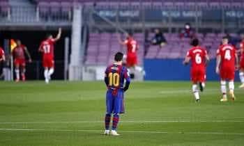 غرناطة يقسو علي برشلونة بثنائية في الدوري الإسباني