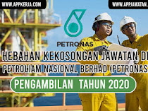 Jawatan Kosong Terkini di Petroliam Nasional Berhad (Petronas)