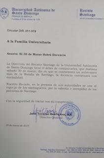 santiago uasd
