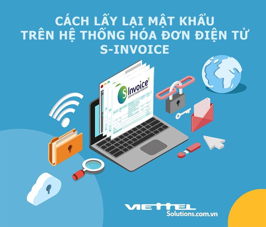 Ảnh minh họa: Cách lấy lại mật khẩu đăng nhập trên hệ thống hóa đơn điện tử Sinvoice