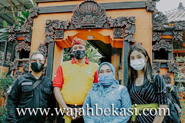 Wawali Kota Bekasi Kunjungi Destinasi Wisata Kampung Bali di Harapan Jaya