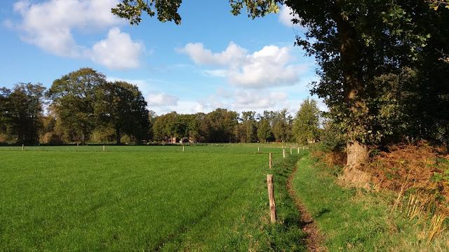 Wandelroute over landgoed Appel