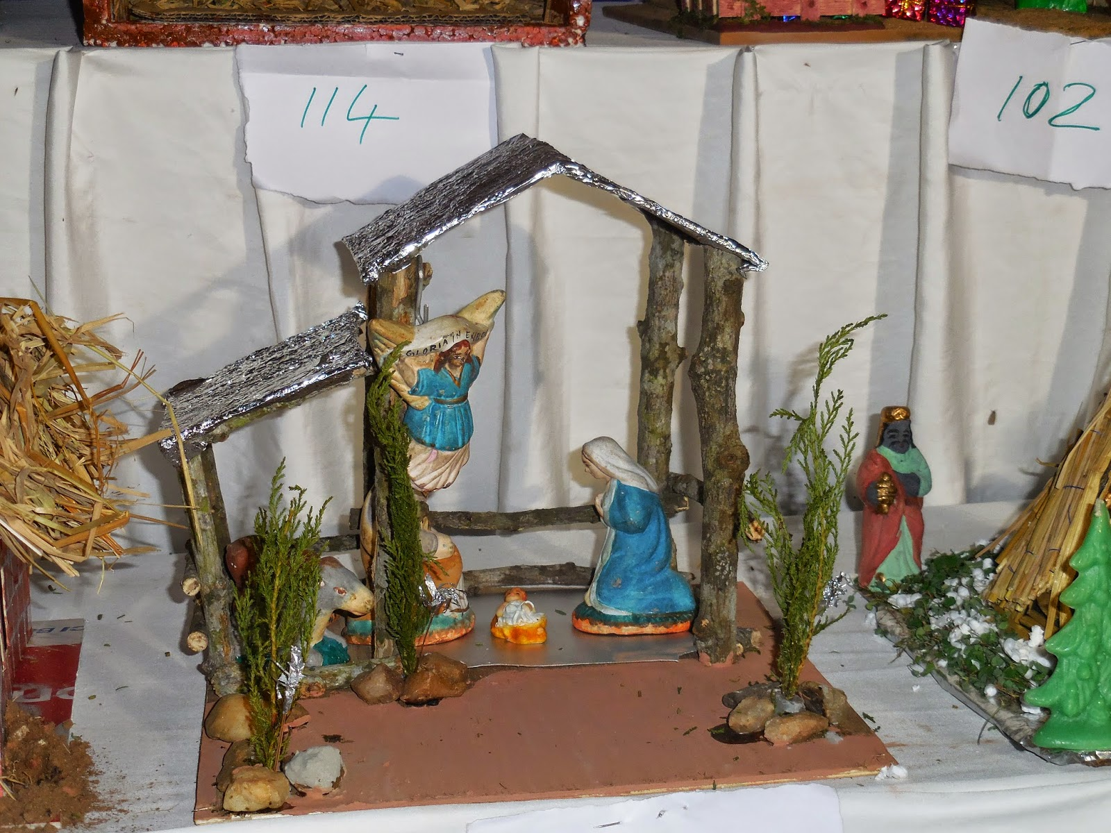 Xmas Crib Making Competition