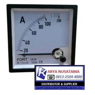 Jual 72x72 Ampere Meter Via CT TAB di Padang