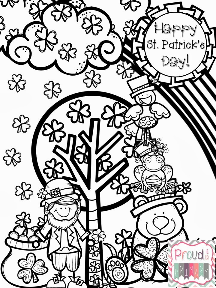 Proud to be Primary: St. Patrick's Day Fun Pack {Literacy