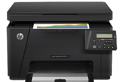 Descargar Driver HP Color LaserJet Pro MFP M176n