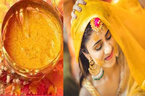 Homemade Bridal Face Pack