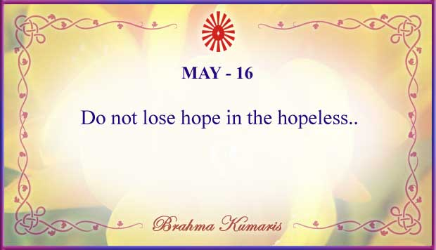 Thought For The Day May 16