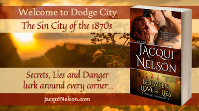 Welcome to Dodge City, the Sin City of the 1870s. Secrets, lies, and danger lurk around every corner.
