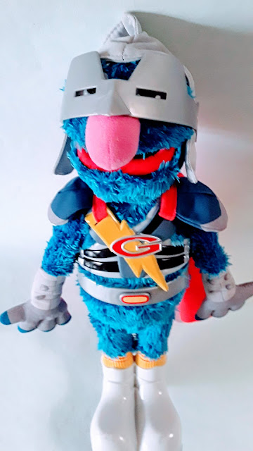 Picture of grover doll