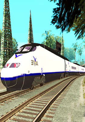 Free Download Express Train Mod for GTA San Andreas.