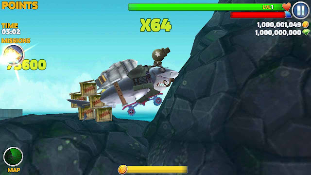 tips bermain hungry shark evolution