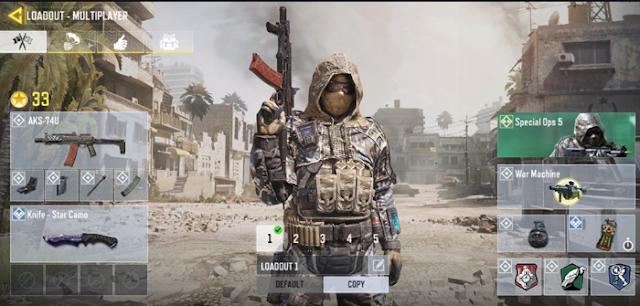 Atur loadout agar bisa bermain Call of Duty dengan pro