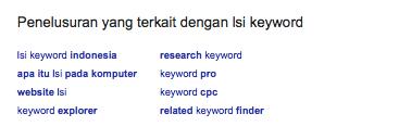Apa itu LSI Keyword