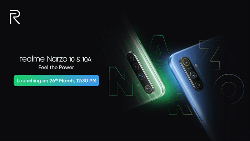 "Realme teases ""Narzo""  series, to launch on March 26!"