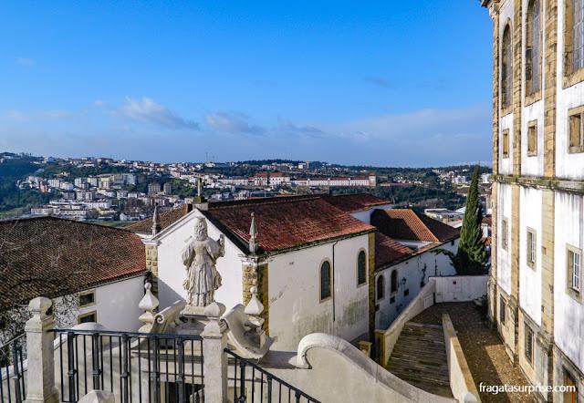 Inverno em Coimbra, Portugal