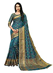 women's Sarees with Blouse Piece