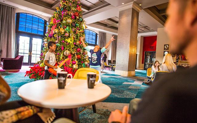 Natal nos hotéis da Universal em Orlando