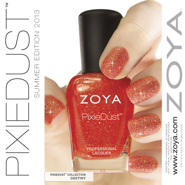 Esmalte Destiny :: Zoya Pixie Dust - Resenha
