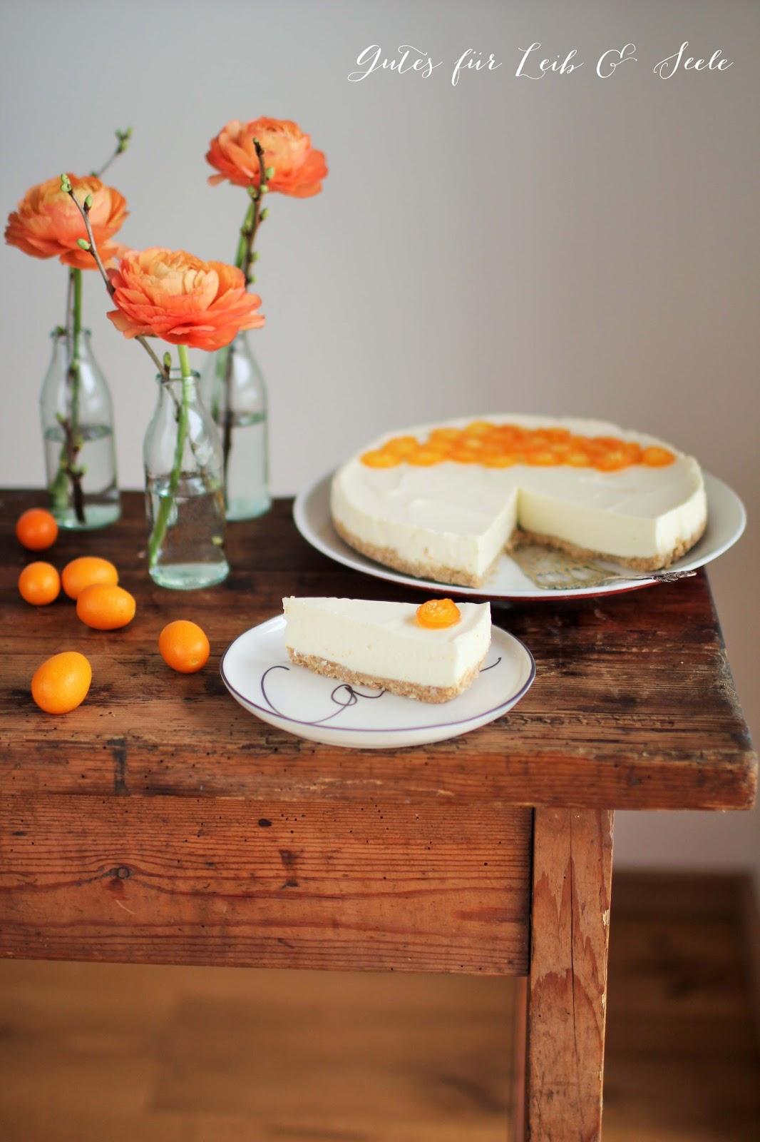 Orangen Cheesecake