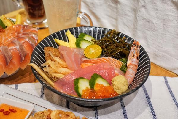 台南南區美食【伊豆讚壽司專賣】餐點介紹-豆讚丼