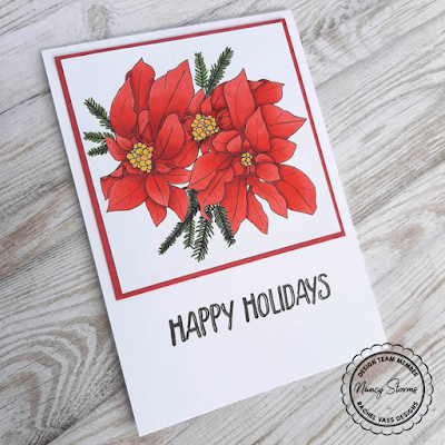 Rachel Vass Designs - Poinsettia