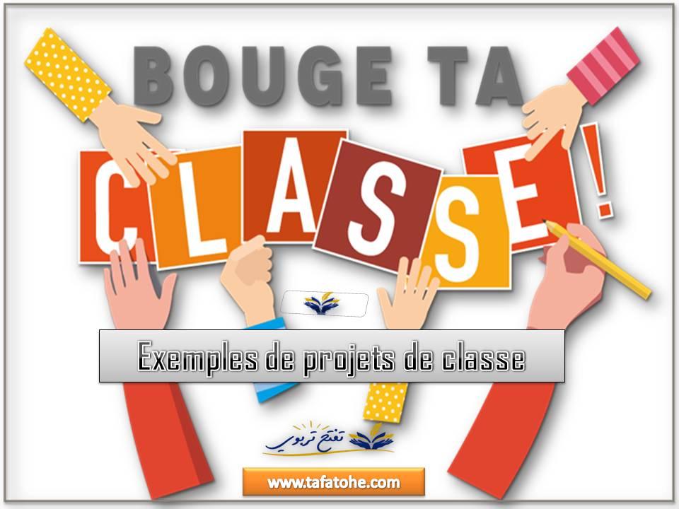 Exemples de projets de classe
