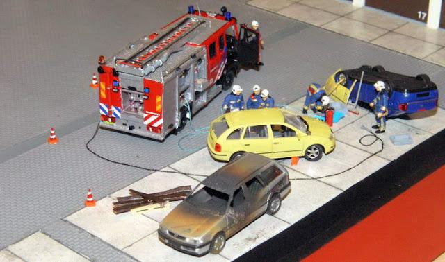 world 1 87 dioramas de pompiers au 1 87. Black Bedroom Furniture Sets. Home Design Ideas
