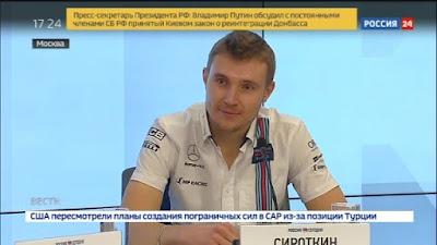 Sergey Sirotkin TV