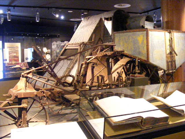 Sunshine harvester, National Museum of Australia, Canberra. Photographed by Susan Walter.