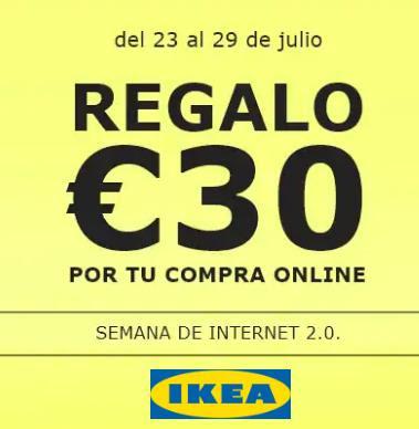 Regalo 30€ Ikea