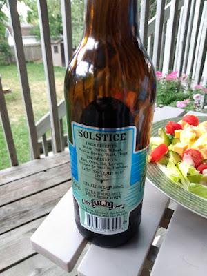 Solstice beer back