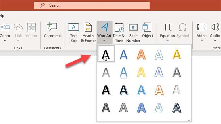 Cara Memasukkan Teks Melengkung Di PowerPoint Dengan WordArt