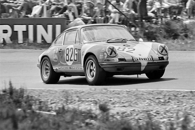 Kremer Porsche 911S 1.000km Nürburgring 1971 Gewinner der GT 2.0 Klasse