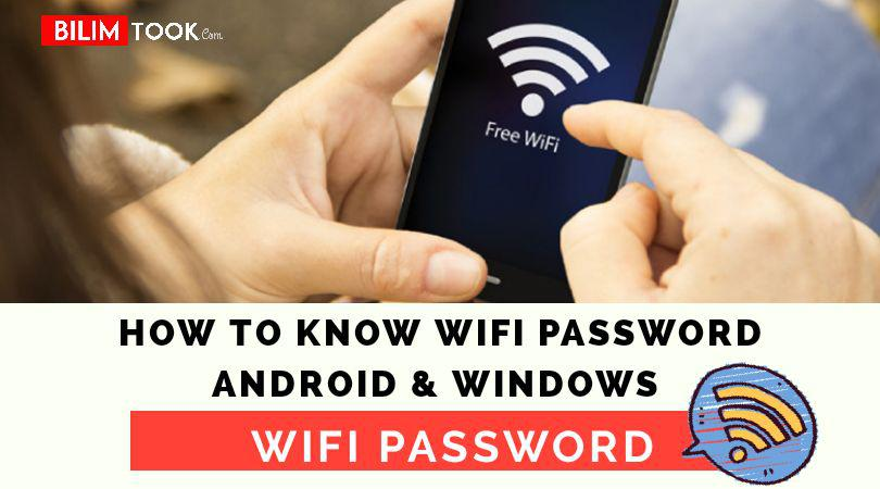 How To Know WIFI Password Of Others In Two Minute