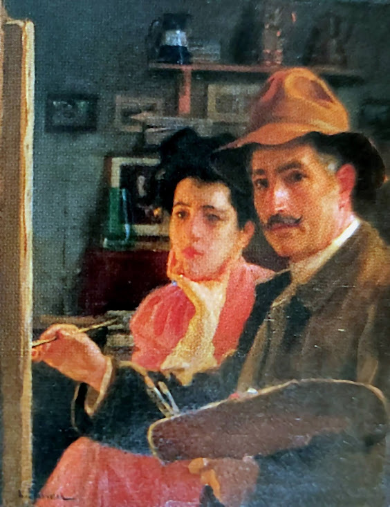 Félix Mestres Borrell, Galería de autorretratos, Pintor español, Pintura española, Pintores Realistas Españoles, Galería de retratos Figurativos, Pintor Félix Mestres Borrell, Autorretratos